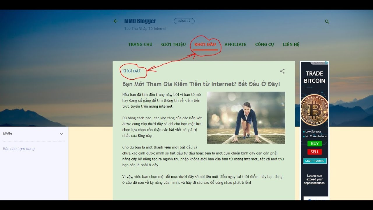 Cách Đưa Bài Viết Vào Chuyên Mục Trong Blogspot