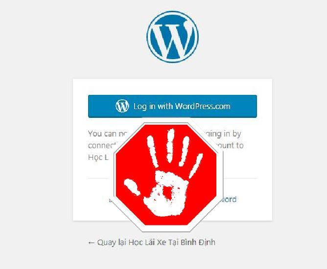 Lỗi Không Đăng Nhập Vào Được WP-Admin Trong WordPress Làm Sao?